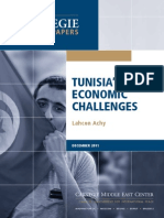 Tunisia's Economic Challenges