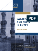 Salafis and Sufis in Egypt