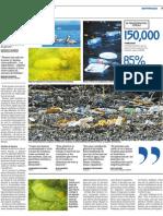 El plástico ahoga al golfo de Fonseca II