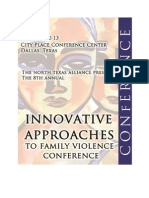 2012 Innovative Approaches to Family Violence E-Program