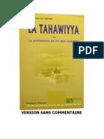 La Tahawiyya Sans Comment a Ire