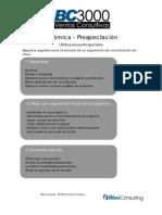 Dinámica - Prospectación