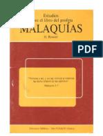 estudio de malaquias