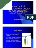 INTRODUÇÃO À HPLC