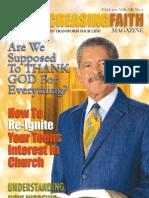 Ever Increasing Faith Magazine - Fall 2011/Winter 2012