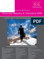 Intl Legal Guide to Corp Recovery & Insolvency