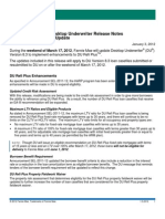 Fannie Mae Desktop Originator/Underwriter Release Notes Update