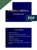 Estudio sobre Cadena Crítica