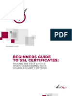 Beginners Guide To SSL Certificates PDF