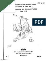 Gas Warfare at Belleau Wood
