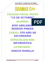 PROGRAMAS C++