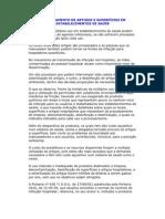 PROCESSAMENTO DE ARTIGOS E SUPERFÍCIES EM ESTABELECIMENTOS DE SAÚDE