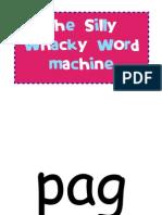 Silly Whacky Word Machine
