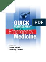 Quick Management Guide in Emergency Medicine v1.0.25 20111208 (Build13)