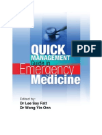 Quick Management Guide in Emergency Medicine v1.0.25 20111208 (Build13)