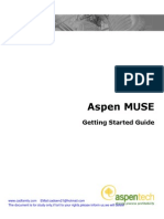 Aspen MUSE Gettingstarted