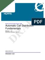 NN43001-551 04.AC Fundamentals Automatic Call Distribution