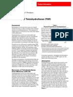 DuPont- Recovery of Tetrahydrofuran (THF)