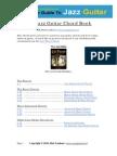 The Jazz Guitar Chords eBook