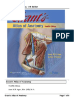 Grant's Atlas of Anatomy, 12th Edition