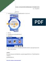 Cara Menggunakan Folder Lock