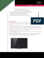 Sony KDL46NX720 DataSheet
