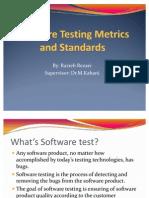 Software Testing Metrics & Standards