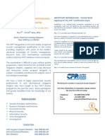 CPP Review 2011-Course Info