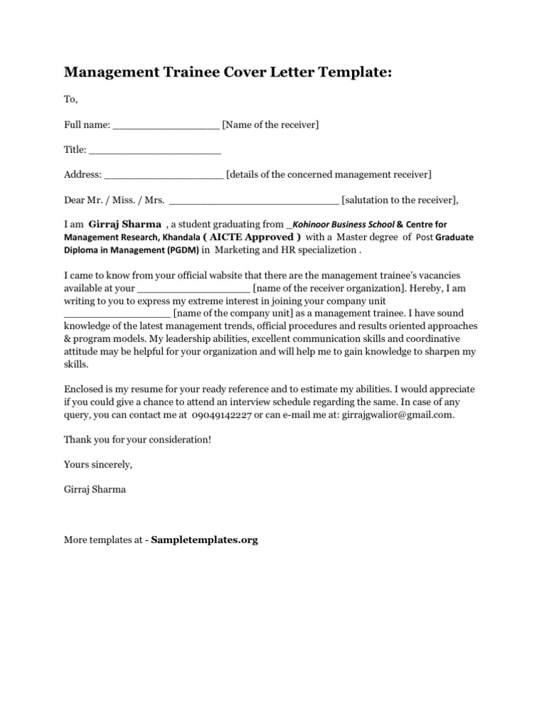 Management trainee cover letter 1536640406v1 thecheapjerseys Gallery