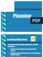 Planning Process in Detail