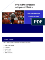 PowerPoint Presentation Development Basics