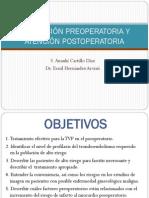 Evaluacion Pre y Post Operatoria