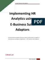 Implementing HR Analytics - Oracle EBS Adaptors