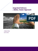 POV - Integrated Delivery Model - A Faster, Better, Easier Approach