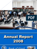 Bank of Kigali Annual Report 2008
