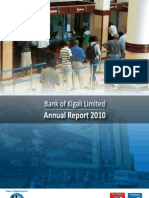 Bank of Kigali Annual Report 2010