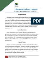 "Leadership Behavior and Effectiveness in ""Ramsay's Kitchen Nightmares, UK"" S03E02"