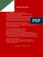 Mentiras de Amor - Ranieri Martins