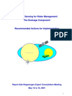 Remote Sensing for Drainage