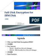 sSE04 - Full Disk Encryption for IBM Disk