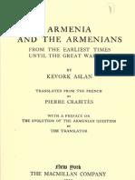 Armenia and Armenians by Kevork Aslan, 1920