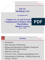 Machining 1 Lab Presentation