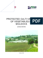 Protected Cultivation of Vegetables in Moldova Report