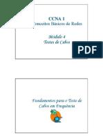 ccna1-04 - testes de cabos