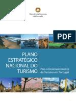 Plano Estratégico Nacional do Turismo - PENT - Min Economia e Inovação