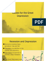 6 Notes-Causes for the Great Depression