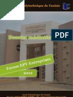 Dossier Médiatisation - Forum EPT-Entreprises