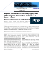 Pseudomonas Isolation Procedure 4