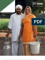 Nestle CSV Summary Report 2010 FR