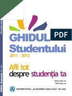 Ghidul Studentului 2011 - 2012